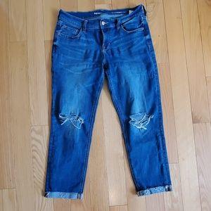 Boyfriend straigh/crop jeans